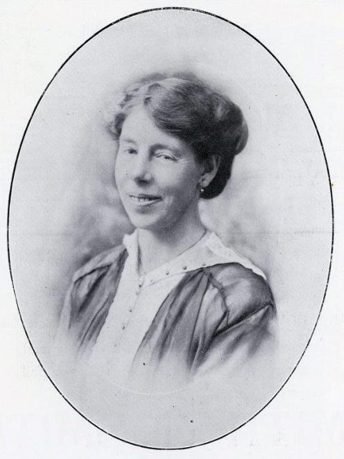 Mary Stewart in 1915. Photo: supplied