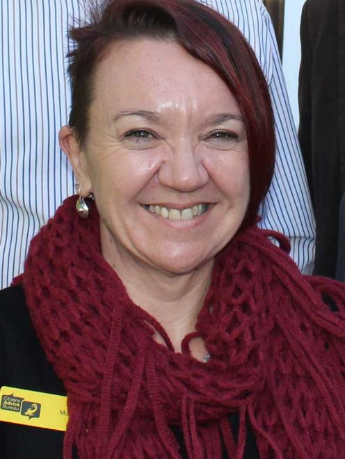 SUPPORTIVE Christchurch's Citizen's Advice Bureau manager Mollie Howarth leads a team, which...