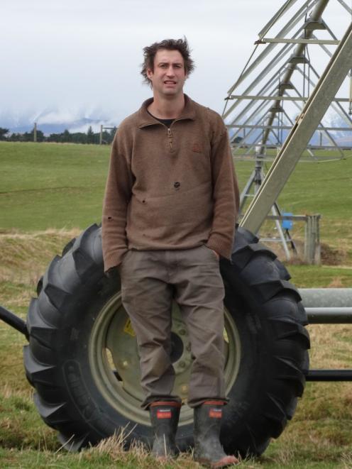 Tarras farmer Ben Purvis. Photo: Mark Price