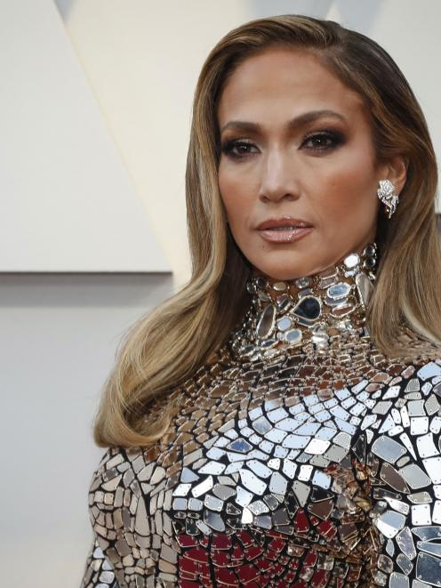 Jennifer Lopez at the 2019 Academy Awards. Photo: Reuters