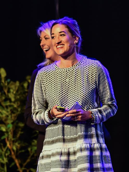 Penny Clark-Hall speaks about social licence to operate at a Boma New Zealand conference. PHOTO:...