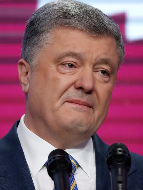 Petro Poroshenko says he won't leave politics. Photo: Reuters