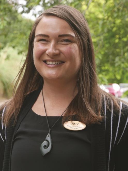 Speech Language Therapist Amy Rosenfeld.