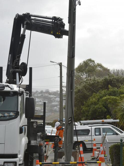 Aurora will spend $347 million on asset renewal, including a total of 14,000 pole. Photo: ODT