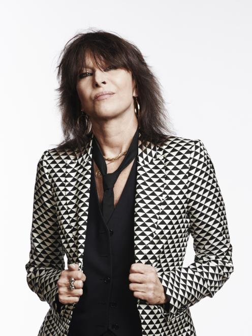 Chrissie Hynde: Photo: supplied