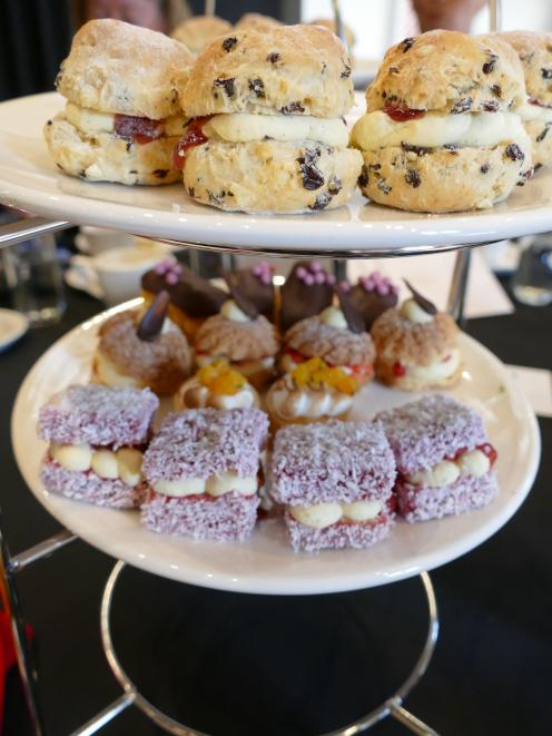 Each honoured guest and their family enjoyed a high tea of sandwiches, scones and cake. PHOTOS: ...