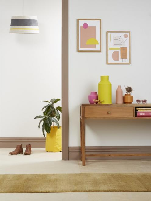 Upcycling and Resene testpots are great tools for putting your own personal spin on your rental...