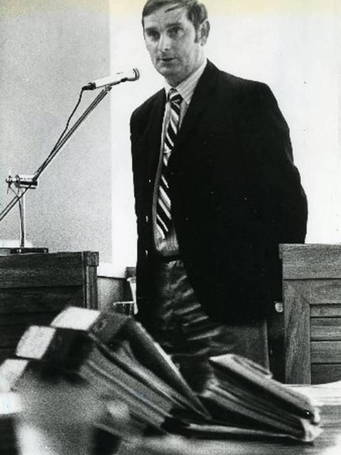 Arthur Thomas, pictured at the Royal Commission of Inquiry in 1980. Photo: NZME