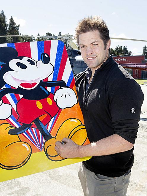 Former All Black Richie McCaw (pictured), athlete Tom Walsh and para swimmer Sophie Pascoe helped...