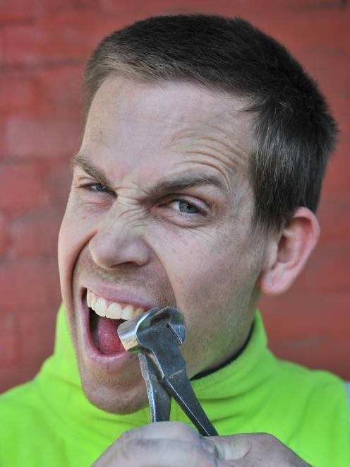Dunedin builder Sam Parkes says ``When it comes to the dentist, no-one's ready for those bills''....