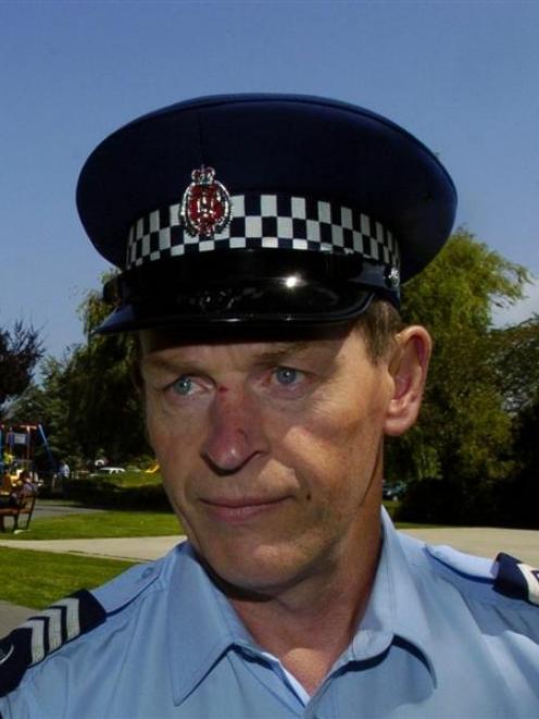 Sgt Kevin Davidson. Photo: ODT files