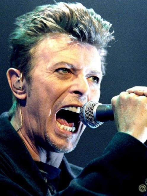 David Bowie. Photo by Reuters.