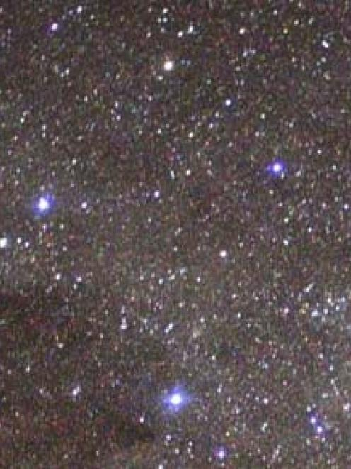 The Southern Cross constellation. Photo: Wikimedia Commons
