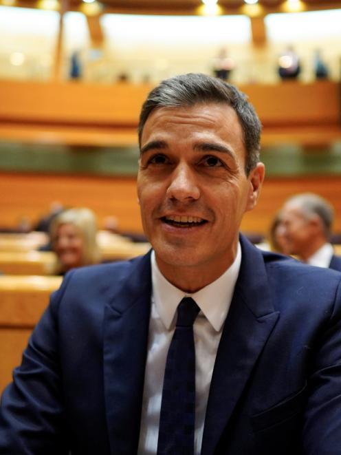 Spain's leader Pedro Sanchez wants assurances over Gibraltar. Photo: Reuters