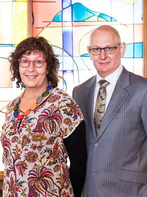 Elizabeth Goodyear and Keith Gillions of Gillions Funeral Services, who offer personal, tailored...
