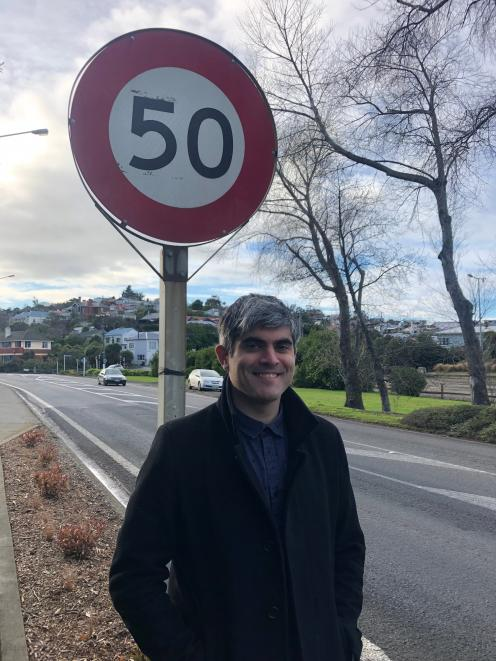Incumbent Dunedin City councillor and election candidate, Port Chalmers resident Aaron Hawkins is...