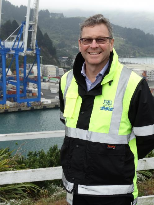Port Otago general manager commercial Peter Brown. Photo: The Star