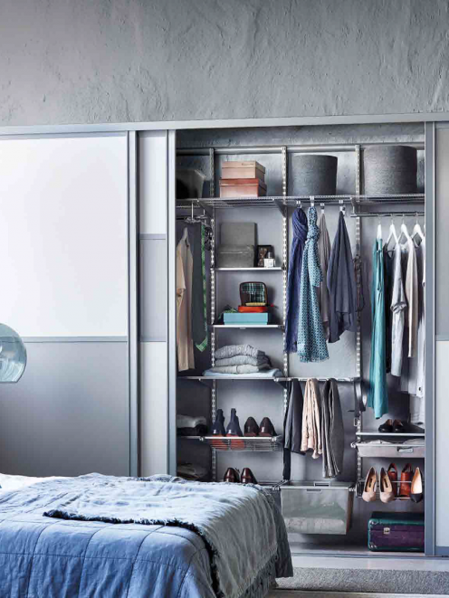 A well-organised wardrobe makes the day easier. Your bedroom is meant to be an oasis, but is it...