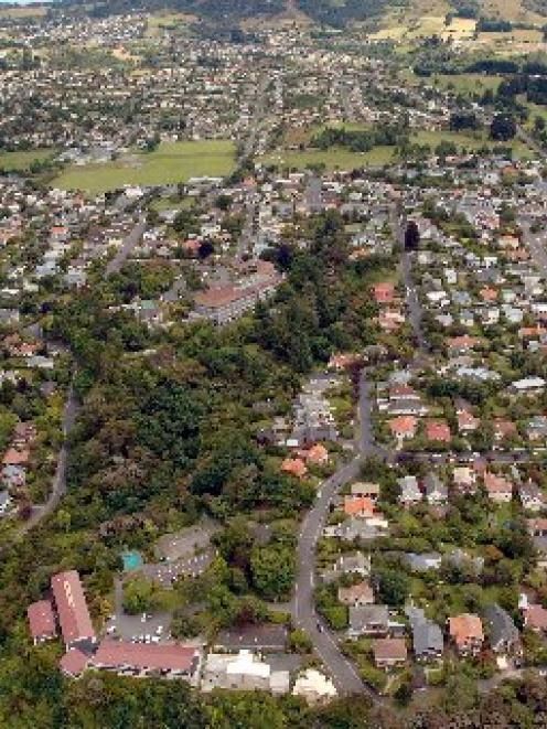 2006 snapshot of Dunedin: Maori Hill in census year. Photo by Stephen Jaquiery.