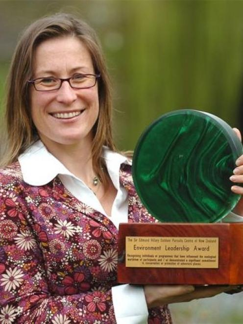 2008 Sir Edmund Hillary Outdoor Pursuits Centre of New Zealand environment leadership award...