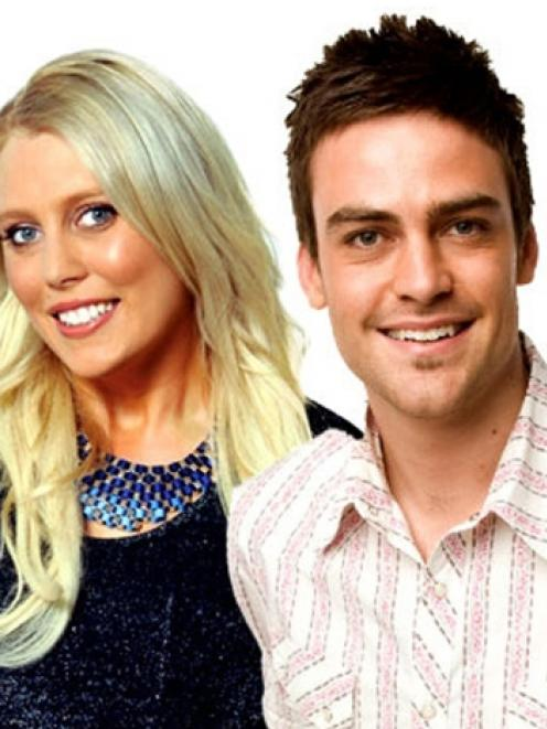 2Day FM hosts Mel Greig and Michael Christian.