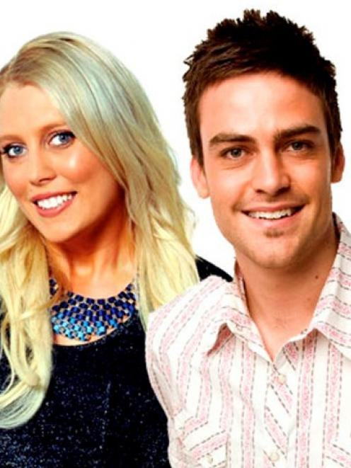 2day FM radio hosts Mel Greig (L) and Michael Christian. REUTERS/Southern Cross Austereo/Handout