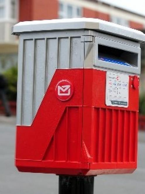 Mail processing will be transferred from Dunedin to Christchurch next year.