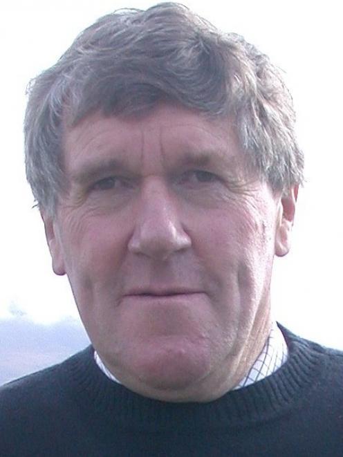 Maniototo Irrigation Company chairman Geoff Crutchley.