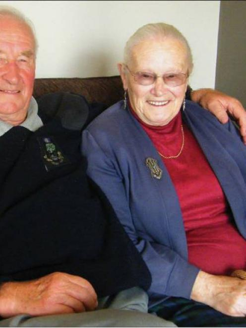 Diamond smiles: James and Jeanie Oliver celebrate 60 years of marriage today.