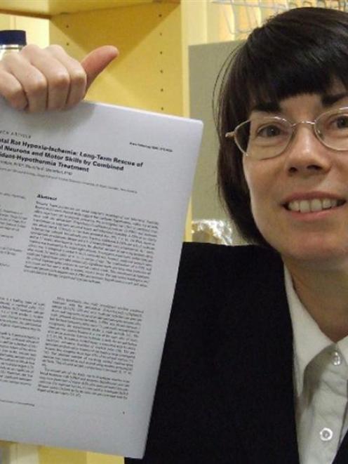 Promising approach . . . University of Otago Associate Prof Dorothy Oorschot reflects on an...