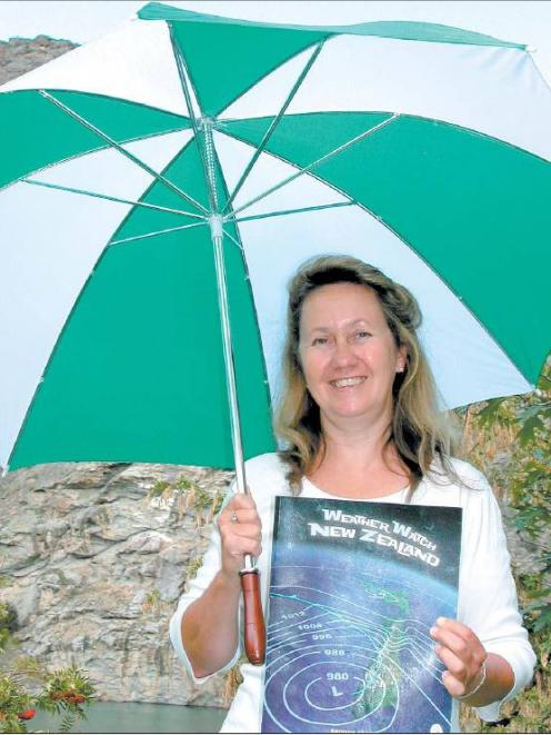 An eye on the weather: Cromwell author Sand a Carrod Kafka has enjoyed learning more about the...