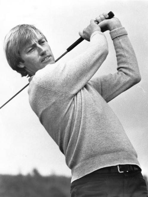A young Simon Owen, who in his heyday could match it with the best in the world. Photo from ODT...