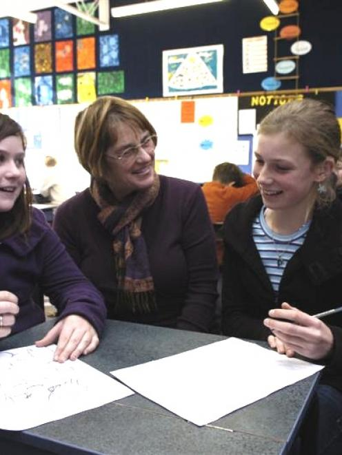 Port Chalmers principal Robyne Selbie makes the most of her last art class with 12-year-olds...
