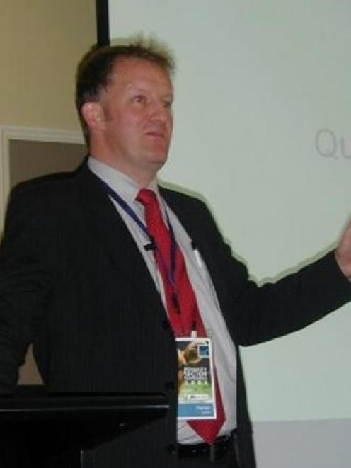 Food marketing specialist Prof Hamish Gow, of Michigan State University, addresses the recent...