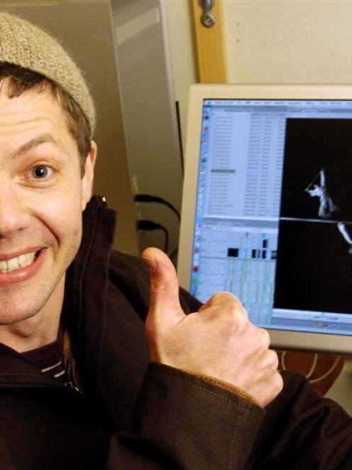 <B>Daniel Belton</b><br/> Dunedin film-maker and choreographer