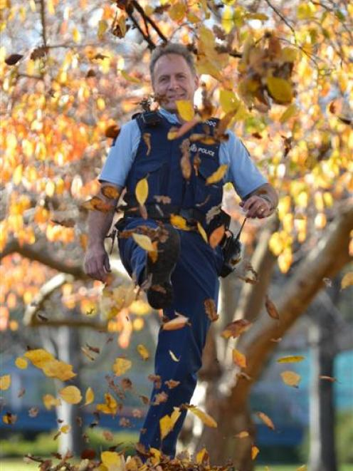 'Campus cop' policeman Max Holt has left his 23-year career with New Zealand Police to begin a...