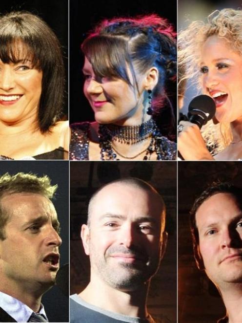 (Clockwise, from top left) Tina Cross, Jackie Clarke, Ainslie Allen, Chris Crowe, Paul Ross,...