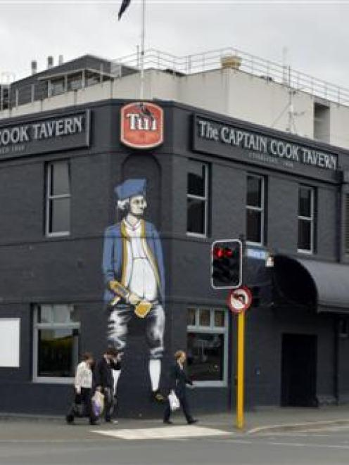 The Captain Cook Tavern.