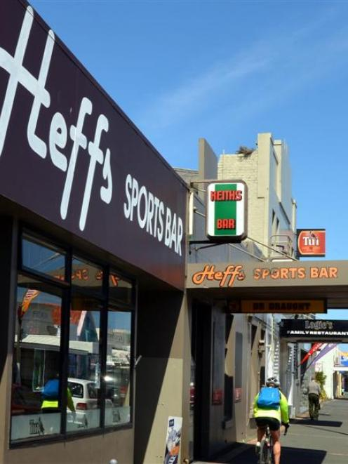 Heffs Hotel in South Dunedin. Photo by Stephen Jaquiery.