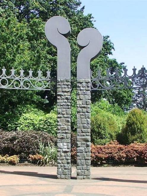 <i>Botanic Garden Entrance</i>, by Stuart Griffiths.