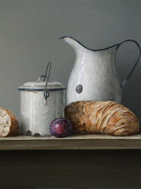 "<i>Bread and Enamel Ware</i>, Neil Driver (""New Works"", Artist's Room)"