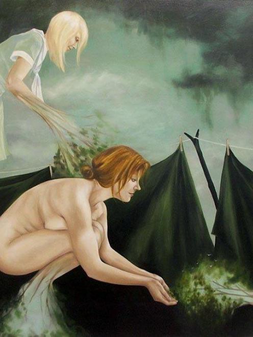 <i>'Come back'</i>, Anita de Soto (Milford Galleries)