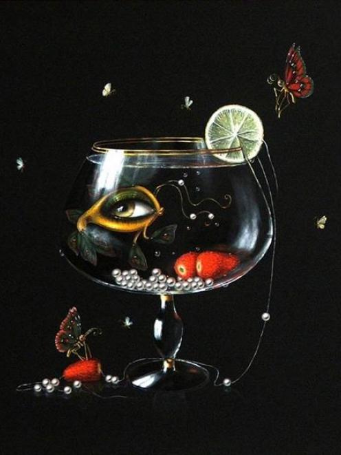 <i>Deep sea dweller</i>, by Leila Ataya.