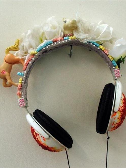 <i>My headphones</i>, by Jessie-Lee Robertson.