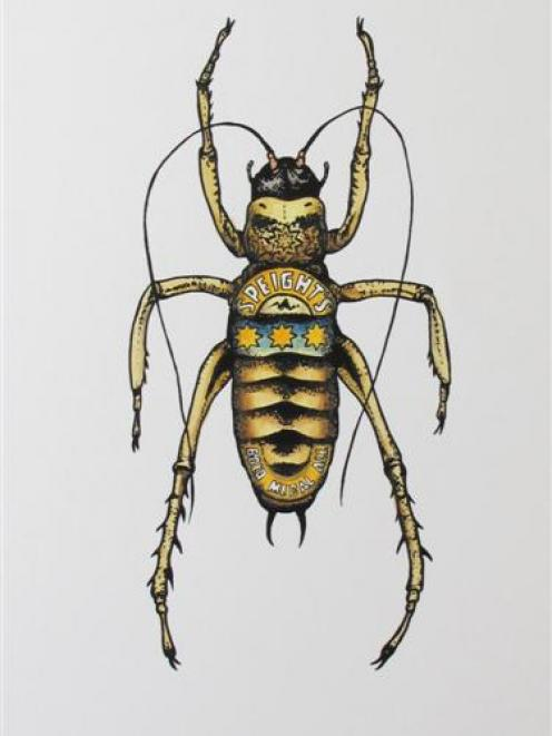 <i>Speight's Alpine Weta,</i> by Philippa Bentley