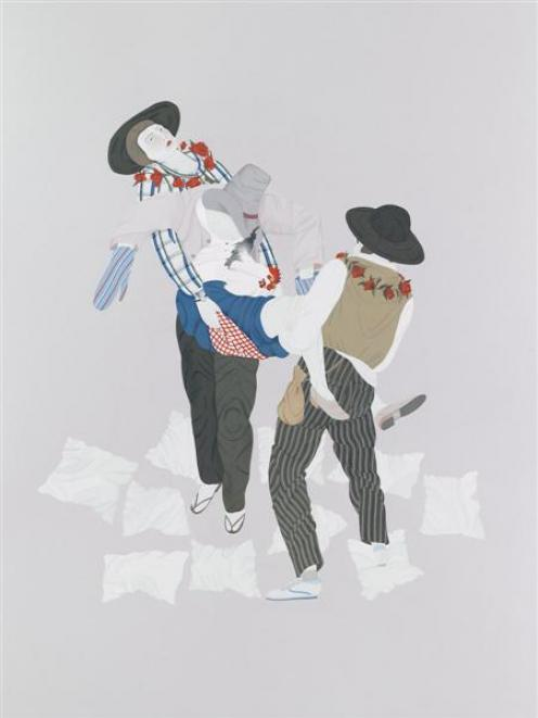 <i>The Straw Man</i>, by Kushana Bush.