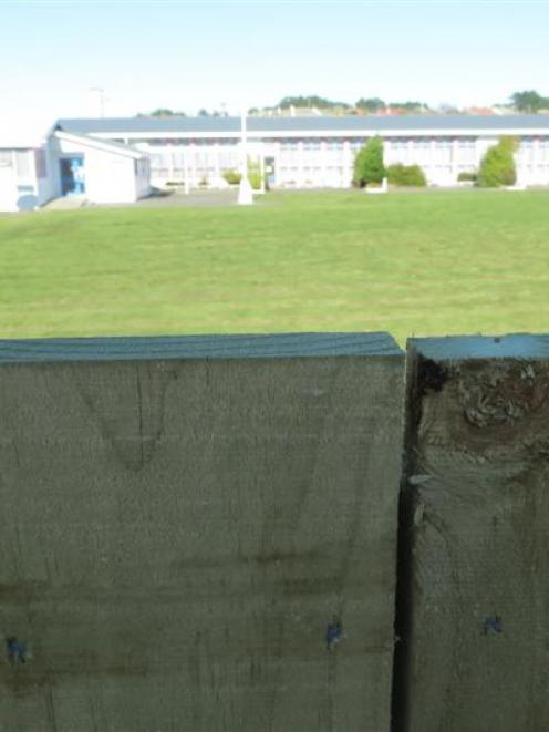 Land Information New Zealand (LINZ) built this wall between the Corstorphine Community Hub and...