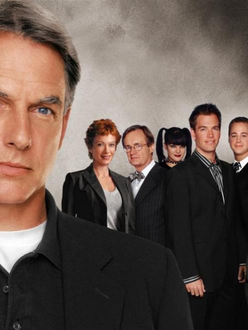 'NCIS' is still going strong, more than a year after a rift between star Mark Harmon (left) and...