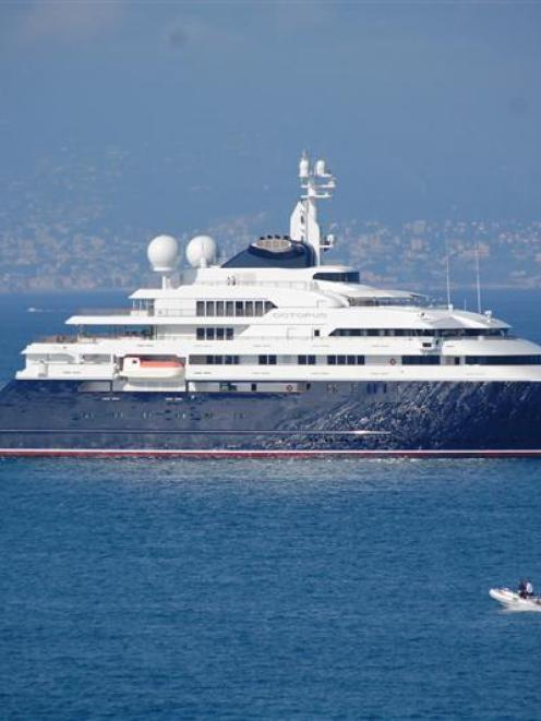 Octopus, owned by Microsoft co-founder Paul Allen.  Photo supplied.