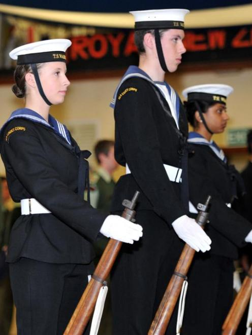 Sea cadets move in with volunteers | Otago Daily Times